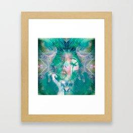 Tiamat Framed Art Print