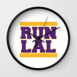 RUN LAL Wall Clock