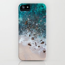 The Ocean Drone Photo iPhone Case