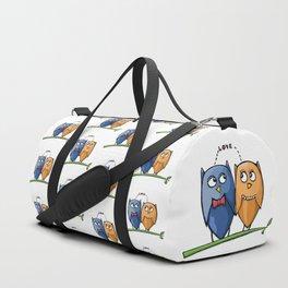 Owl Love Duffle Bag