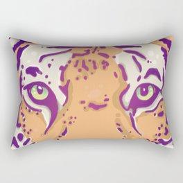 Green Eyes Rectangular Pillow