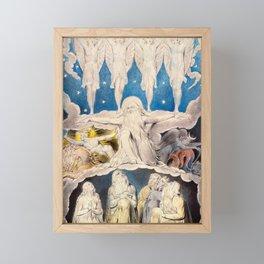 William Blake - When the Morning Stars Sang Together, 1804 Framed Mini Art Print