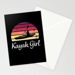 Kayak Girl - Gift for Kayaking Women Stationery Cards