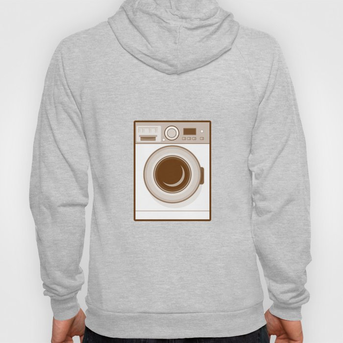 Retro Washing Machine Hoody
