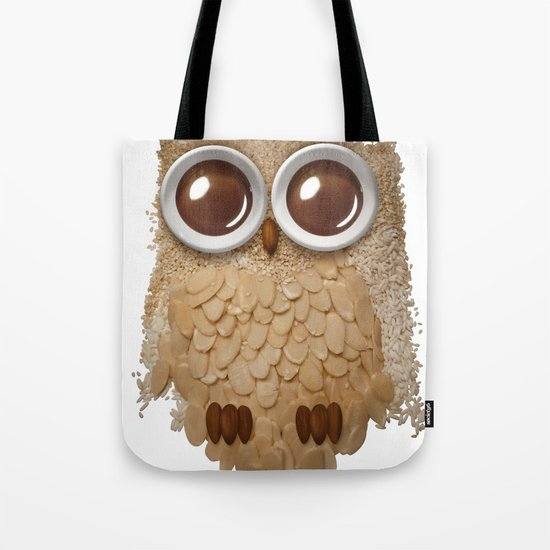 Owl Collage #6 Tote Bag