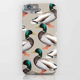 Mallards #society6 #decor #buyart iPhone Case