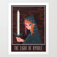 Light of Hyrule Art Print