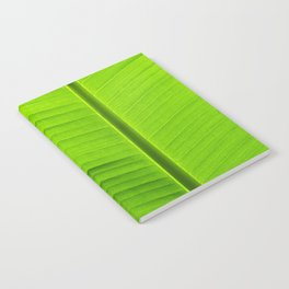 banana tree leaf Notebook