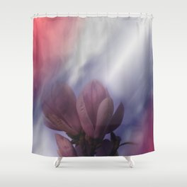 window curtain with flowerpower -2- Shower Curtain