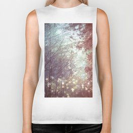 Magical Firefly Forest Biker Tank