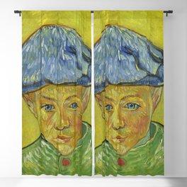 """Vincent van Gogh """"Portrait of Camille Roulin"""" Blackout Curtain"""