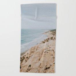 California Coast Beach Towel