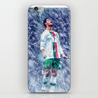 ronaldo iPhone & iPod Skins featuring Cr7 Ronaldo by Cr7izbest