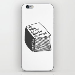 The Book of the Broken Promises iPhone Skin