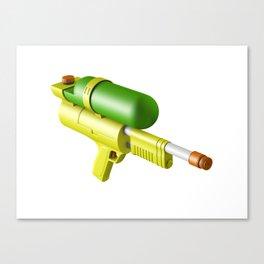 Water Gun Canvas Print