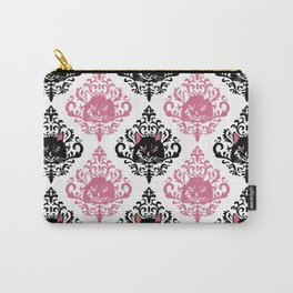 cat damask Carry-All Pouch
