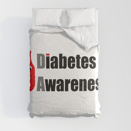 Diabetes Awareness Comforters