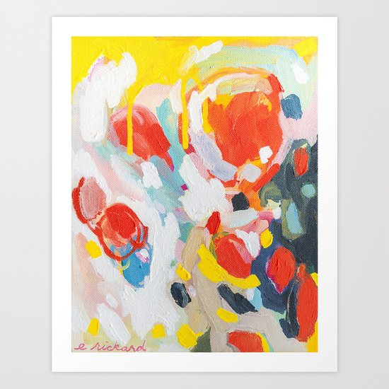 6 Art Print By Emilyrickard