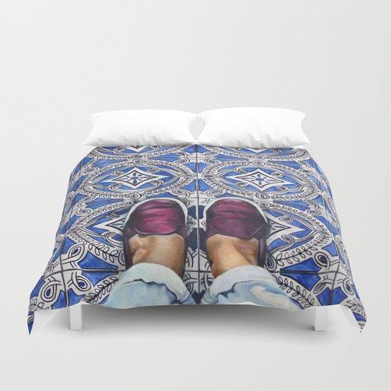 Art Beneath Our Feet - Ancona, Italy Duvet Cover