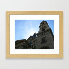 St. Peter's Basilica, Budapest 2011 Framed Art Print