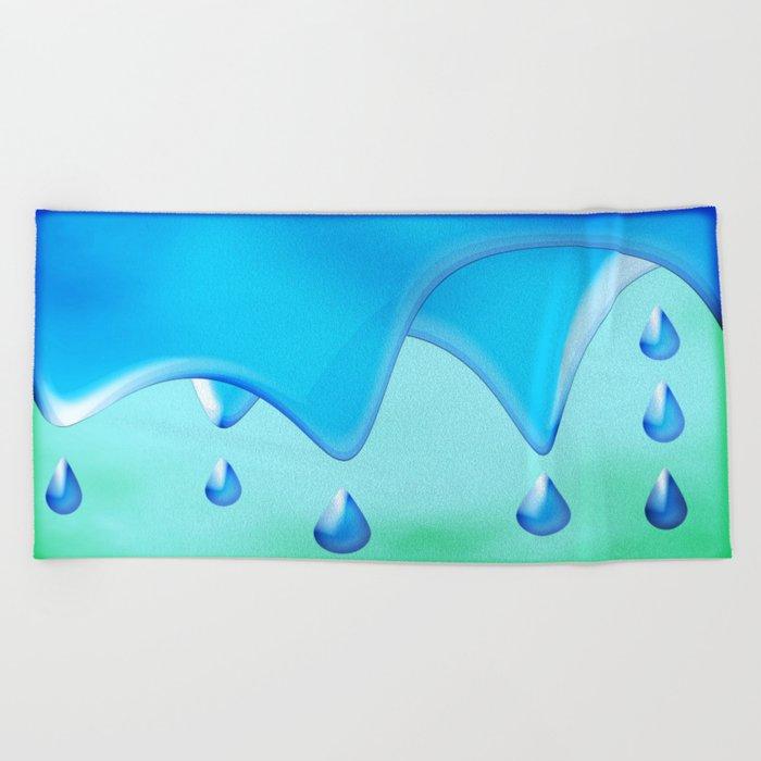 Splish Splash Beach Towel