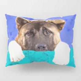 American Akita Puppy Pillow Sham