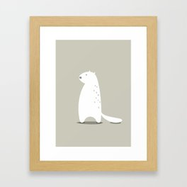 BEAVER Framed Art Print