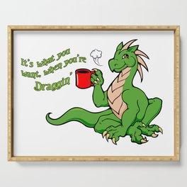 Coffee Dragon Serving Tray