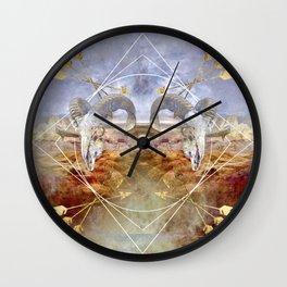 Death Valley II Wall Clock