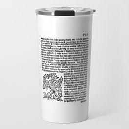 incognita servo Travel Mug