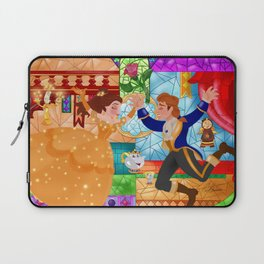 Stained glass Wallpainting Laptop Sleeve