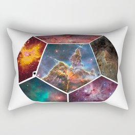 Universal Geometry no.3 Dodecagon Rectangular Pillow