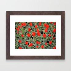Fire of Love Framed Art Print