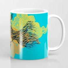 peacock tree Mug
