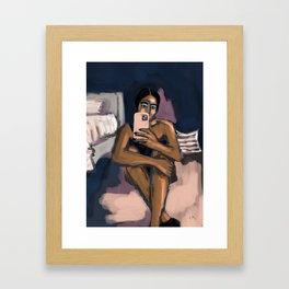 in my room Framed Art Print
