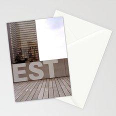 Paris EST Library Stationery Cards