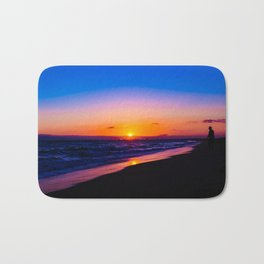 outstanding sunset Bath Mat