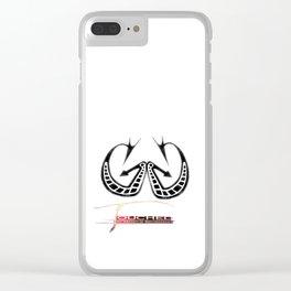 Springbock Clear iPhone Case