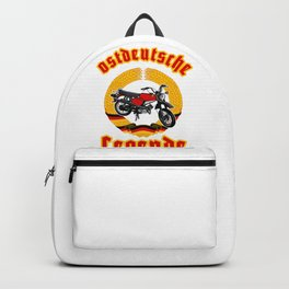 DDR gift east moped men t-shirt moped outfit Backpack