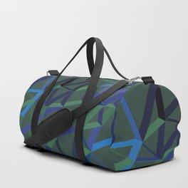 3D Futuristic GEO Lines X 2 Duffle Bag