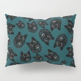 Totem love wolf pattern Pillow Sham