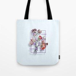 Flowers Bloom Botanicals Vintage Illustration Poster #3 Tote Bag