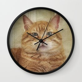 Cattitude Is Everything. Wall Clock