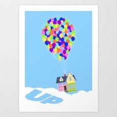 UP!  Art Print