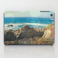 big sur iPad Cases featuring Big Sur - Bonafide by Jenndalyn