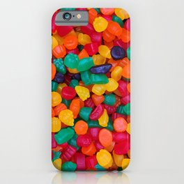 Jujubes Gummy Candy Photo Pattern iPhone Case