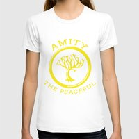 divergent T-shirts featuring Divergent - Amity The Peaceful by Lunil