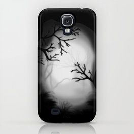 Dark paysage iPhone Case