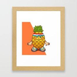 pineapple kid Framed Art Print