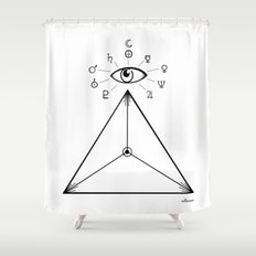 Freemasonry Shower Curtain